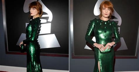 Givenchy Arielle Studded1660 florence welch in givenchy photos grammys fashion 2013 ny daily news