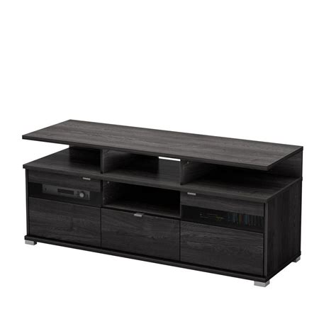 south shore city ii tv stand grey oak the home