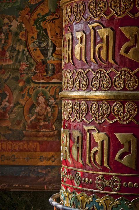 large buddhist prayer buddhist prayer wheel photograph by nichon thorstrom