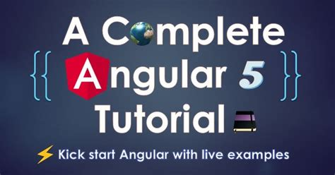 construct 2 complete tutorial a complete angular 5 tutorial angularbytes