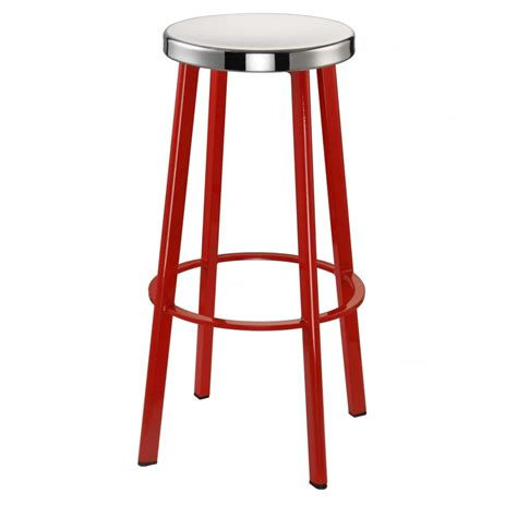 Bar Stools Metal by Buy Contemporary Metal Bar Stool With Circular Steel Seat