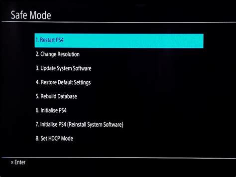 android safe mode how to stop your playstation 4 from starting up in safe mode android central
