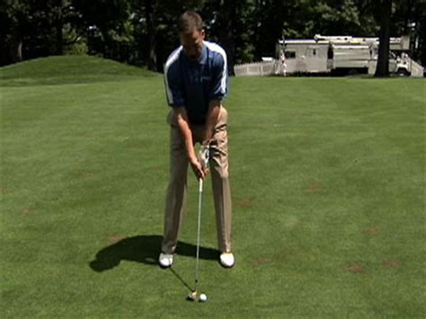 michael breed golf swing michael breed golf tips tricky lie on a fairway pga com