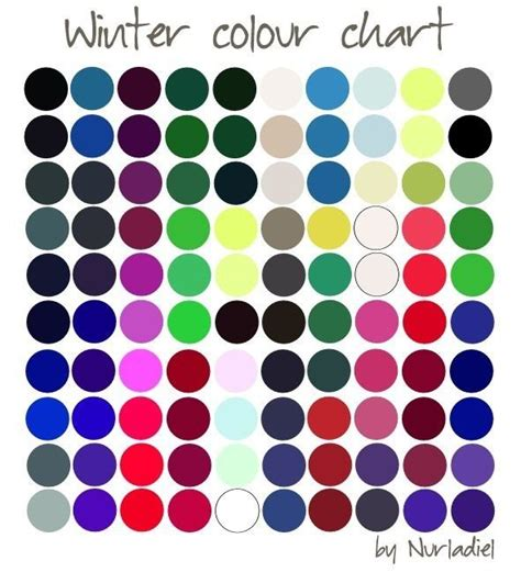 color season 13 best images about winter type on winter