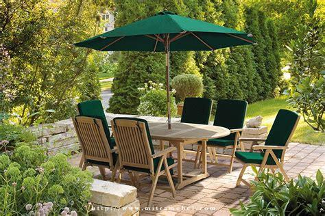 Meja Payung Taman Jati Outdoor set meja payung hijau taman mitra mebel jepara mebel