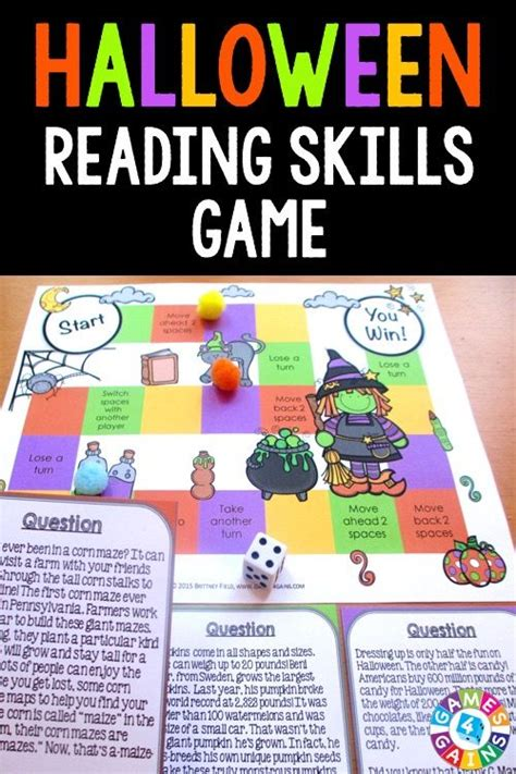 halloween reading themes halloween reading comprehension for 4th grade 1000