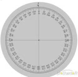 search results for 360 degree protractor template