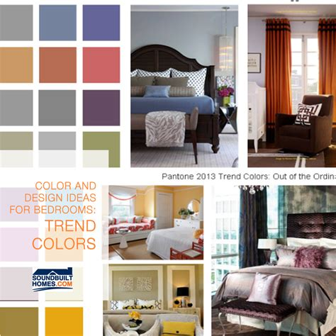 2013 bedroom colors 2013 color and design ideas for bedrooms from trend colors