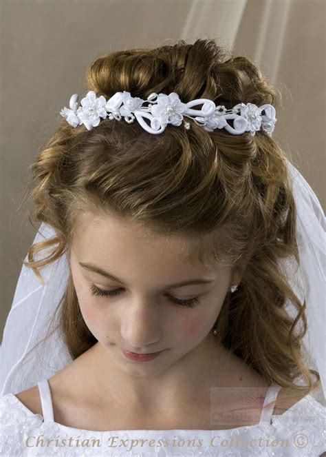 down hairstyles for communion communion updos hair style first communion hairstyles