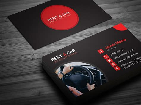 rent a car business card template free rent a car auto business card o jpg 1439015705