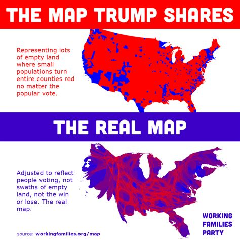 map of us election results demand more accurate and informative maps for visualizing