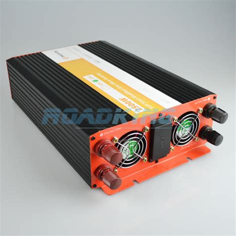 Inverator Slowstart Softstart 2500w 2500w inverter soft start modified sine wave 24v