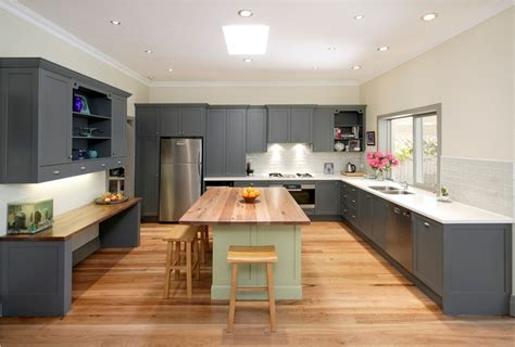 kitchen l shaped island l shaped kitchen with island design railing stairs and