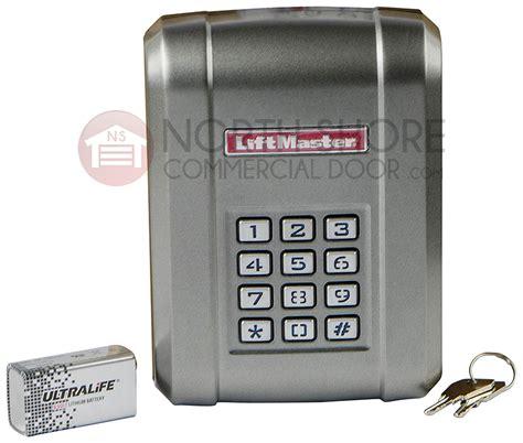 liftmaster kpw garage door opener keypad