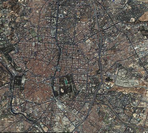 ver imagenes satelitales online mapa satelital de madrid tama 241 o completo