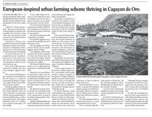 Urban Gardening Book - philippines city farmer news