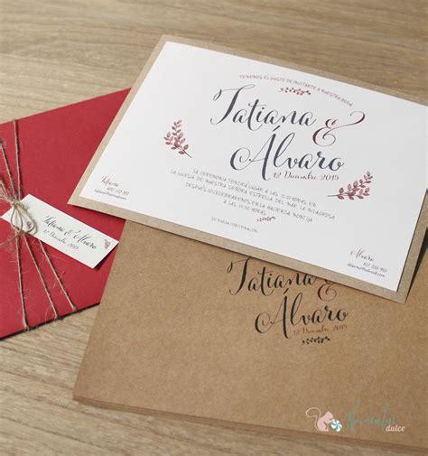 invitaciones boda 20 centimos empapelarte invitaci 243 n caligraf 237 a vintage