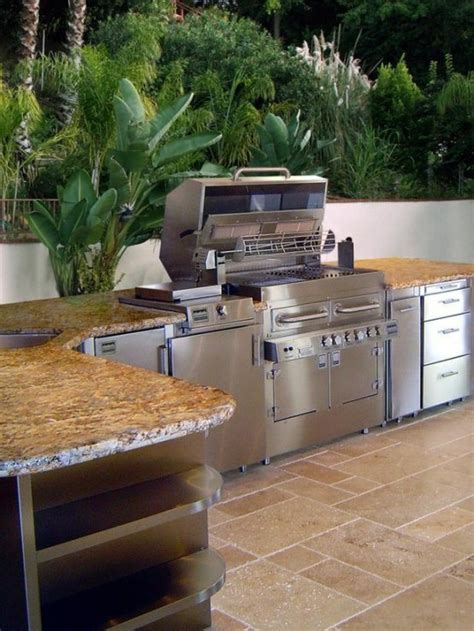 Outside Kitchen Designs 95 Cool Outdoor Kitchen Designs Digsdigs