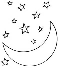 starry coloring page moon at starry coloring page coloring sky