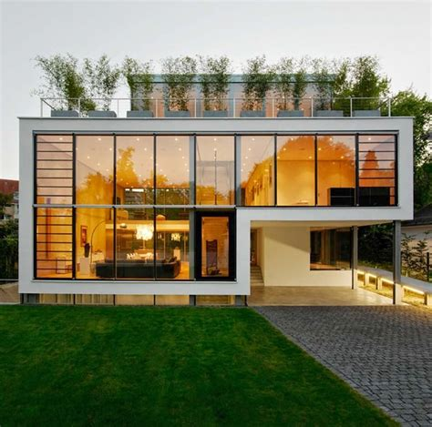 casa quot r quot fachadas de cristal arquitectos