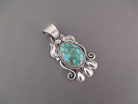 will denetdale turquoise mountain turquoise pendant jewelry