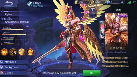 Legend Of Freya wallpaper mobile legend freya war background wallpaper