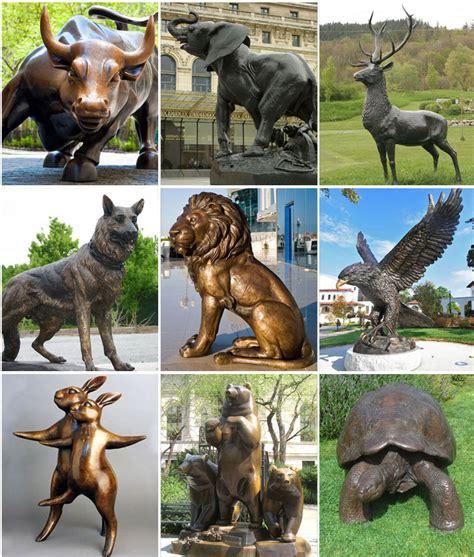 backyard bronze casting outdoor casting standing bronze sculptures bull on lawn bronze metal deers egales