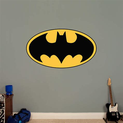 custom fatheads wall stickers batman logo fathead wall decal