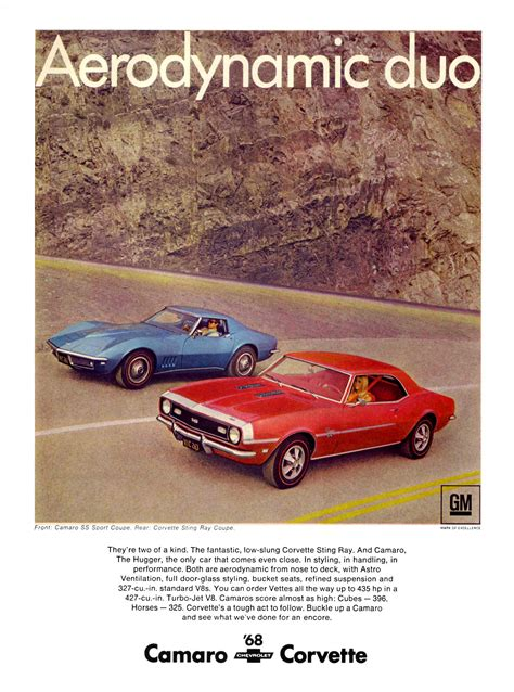 car ads in 45 awesome vintage chevrolet camaro ads feature car