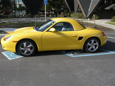 yellow porsche boxster 2002 boxster s for sale yellow hard top low miles
