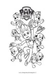 coloring pages paw patrol free coloring pages of paw patrol team