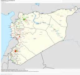 syrian civil war map template template syria new