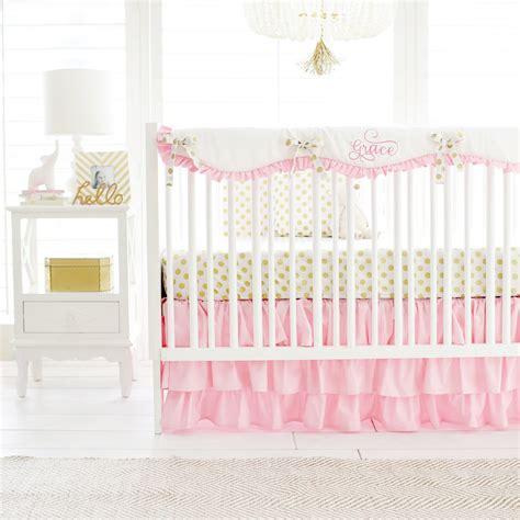 gold crib bedding sets pink and gold crib bedding pink and gold baby bedding