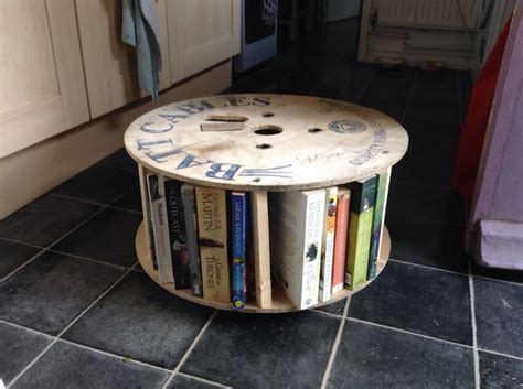 the thousand opportunities of diy cable spool upcycling