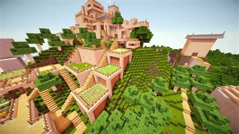 epic minecraft houses epic minecraft cinematic tour mountain house with huge creations download youtube