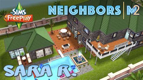 design clothes neighbor sims freeplay sims freeplay sara r s house neighbor s original house