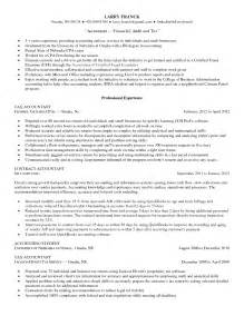 Tax Processor Sle Resume by Accounting Resume Sales Accountant Lewesmr