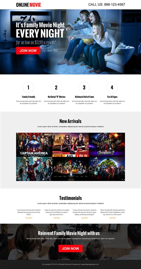 design view online watch movies online cta landing page 4 miscellaneous