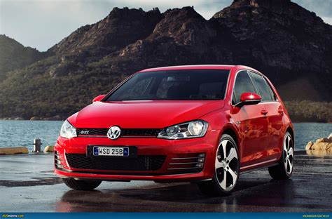 volkswagen red volkswagen golf 2014 red