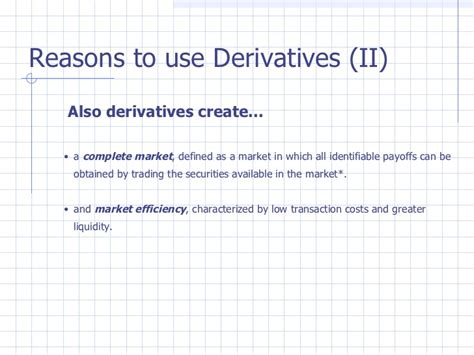 Financial Derivatives Notes For Mba Pdf by Financial Instruments Derivatives Ppt Bec Doms Bagalkot