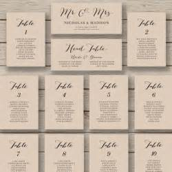 Wedding Table Planner Template Wedding Seating Chart Template Printable Seating Chart