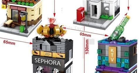 Lego Murah Block Space Wars Protagonist mainan lego lego kw murah banyak macam jakarta sembo mini city market ktv