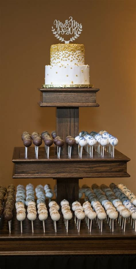 Cake Pop Wedding Cake #cakepops #weddingcake #