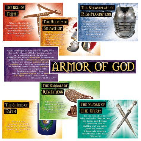armoir of god the armor of god poster set poster set christian supply