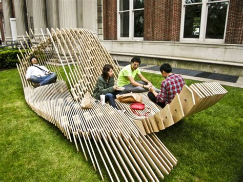 Outdoor Home Decor by Unique Garden Furniture Trying To Balance The Madness