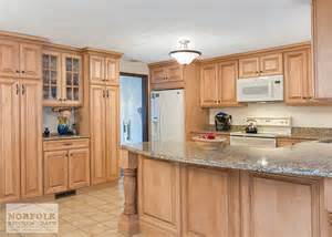 Walnut Kitchen Cabinets Granite Countertops - tewksbury kitchen remodel with maple cabinets walnut glaze