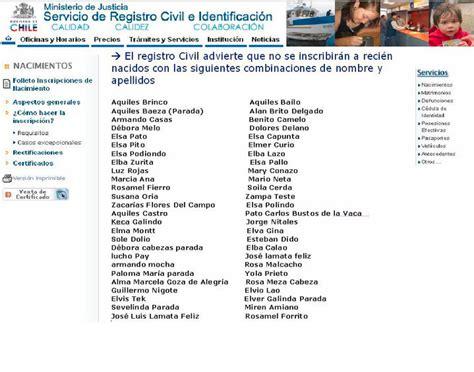 nombres raros de mexico nombres prohibidos en el registro civil xd taringa