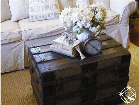 Decorating A Small Room Ethereal Plus What I Love Steamer Trunk Amp What Could Be