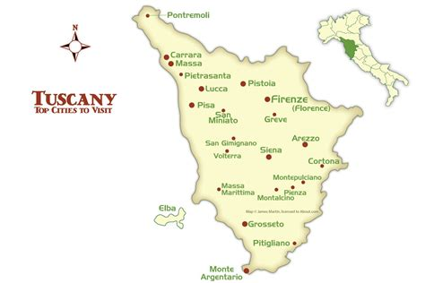 map of tuscany tuscany cities map and tourism guide