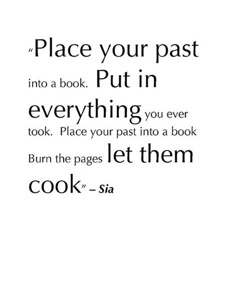 A Place What Is Them Leave Your Past Quotes Quotesgram
